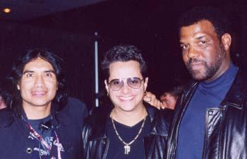 Ray wi Tito Puente Jr.