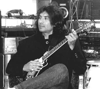 Ray in his studio